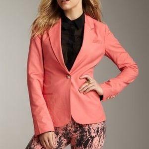 Elizabeth And James Coral Single Button Blazer 2